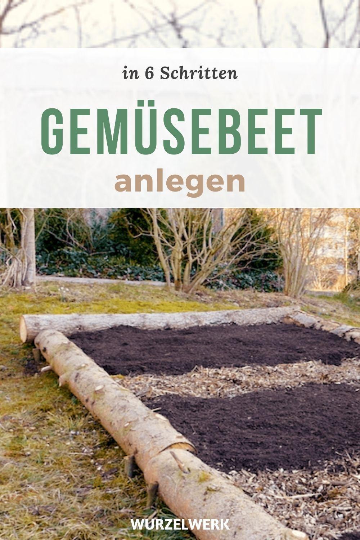 Gemusebeet Anlegen In 6 Schritten Ganz Ohne Umgraben Wurzelwerk Garten Pflanzen Garten Anlegen Gemusebeet