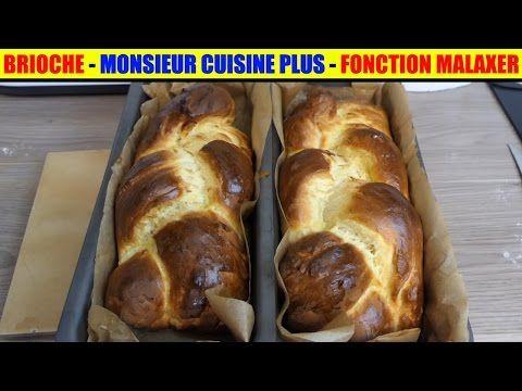 brioche monsieur cuisine plus lidl programme malaxer silvercrest thermomix