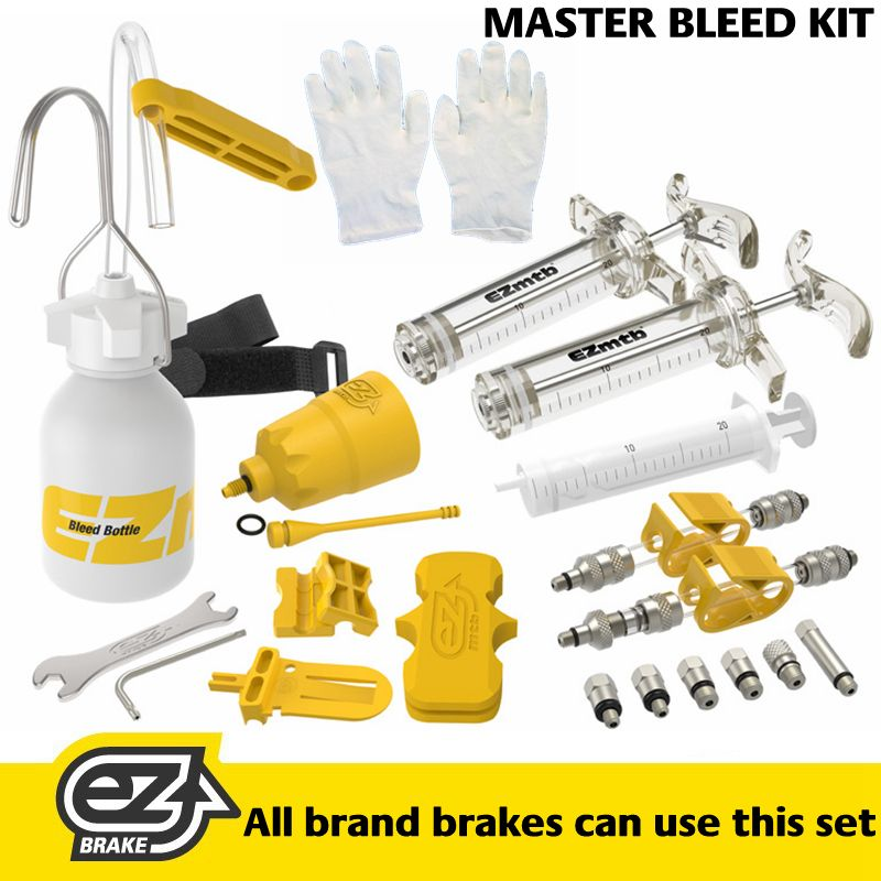 EZMTB MASTER Bleed Tool Kit for Hydraulic Brakes | Tools