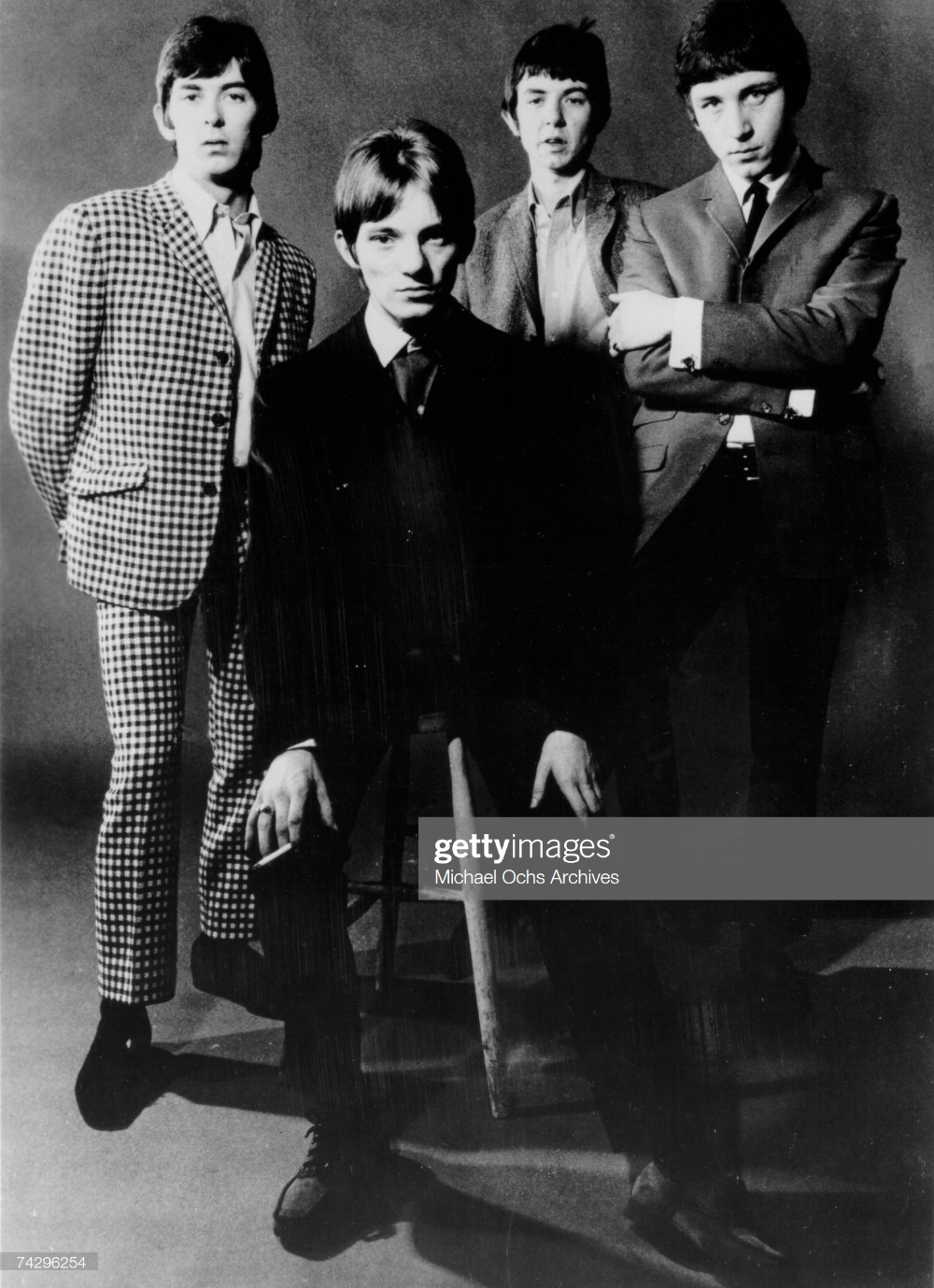 "The British rock group ""The Small Faces"" poses for a"