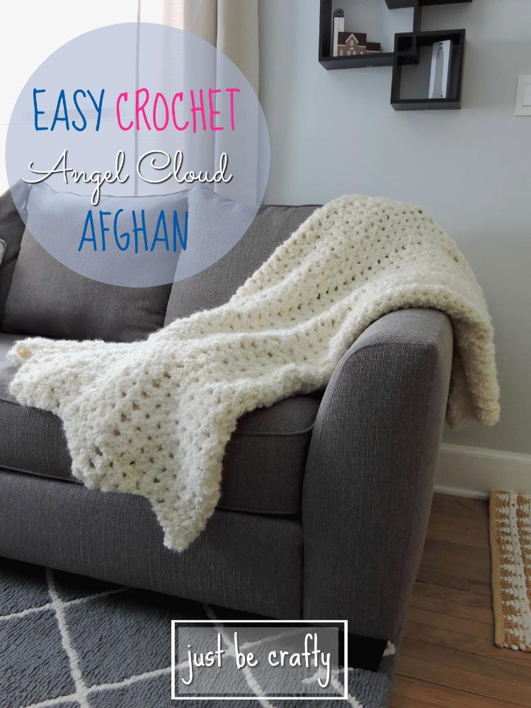 Easy Crochet Angel Cloud Afghan | Acolchados, Manta y Ganchillo