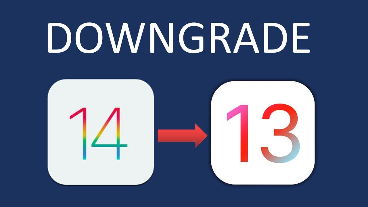 How To Downgrade Ios 14 Beta To Ios 13 Without Itunes Itunes Ios Iphone