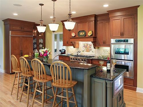 Traditional Kitchen Islands With Wood Material Modern Kitchen