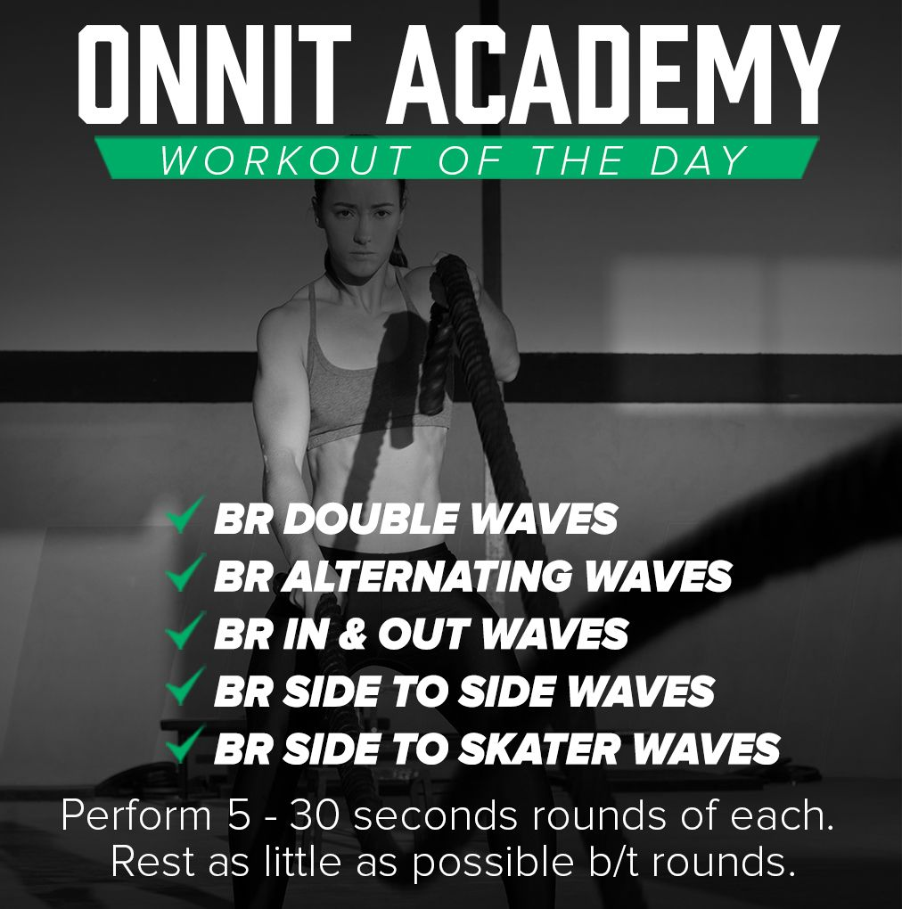 Workout Of The Day #29 - Battle Ropes Workout