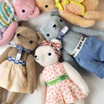 Polka Dot Club Teddy Bears