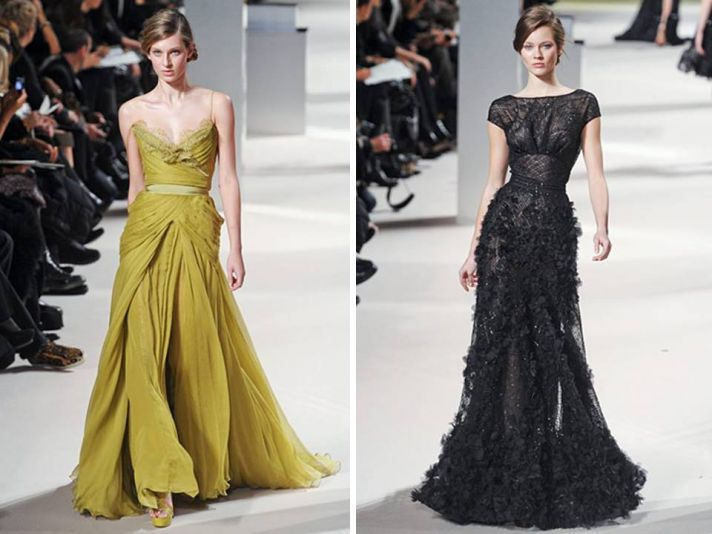 Elie Saab Dresses and Details from Paris Haute Couture Fashion Week! | OneWed