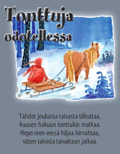 Sähköiset Joulukortit