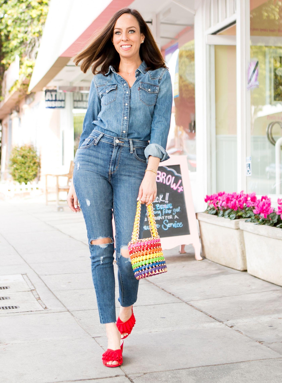 b634dbd6244 Six Ways to Wear Rainbows | *Fashion Frenzy* | Pinterest | Fashion ...