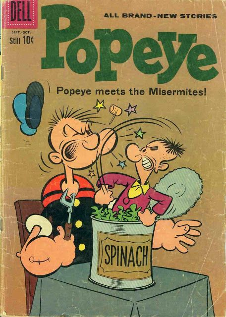 Retronika: L'origine dei Ming! -Popeye meets the Misermites!