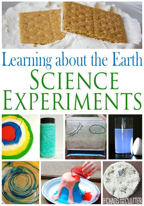 Learning About the Earth Science Experiments