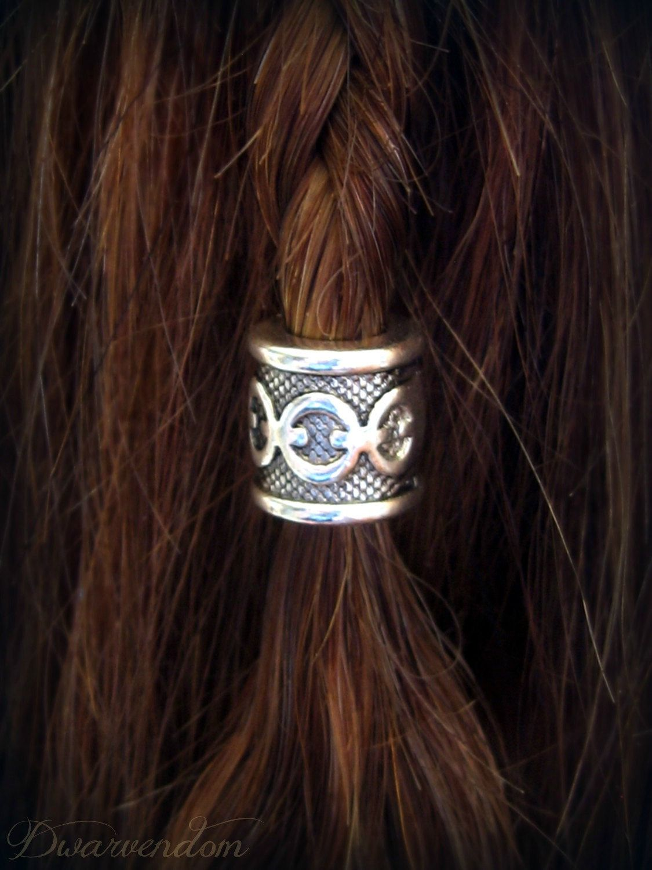 Dwarvendom Beard Bead Kit Tibetan Alloy Silver Viking