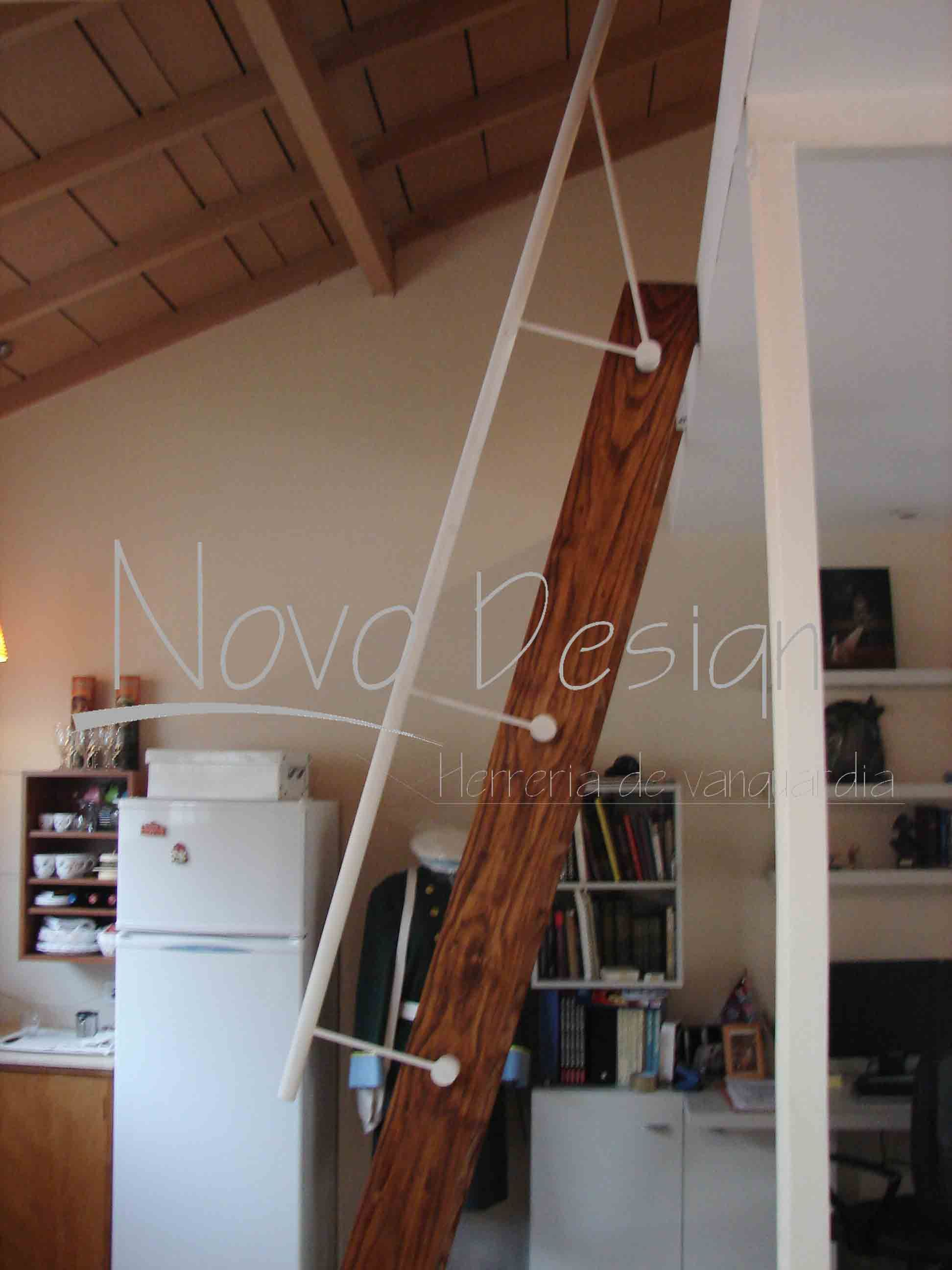 escaleras espacios reducidos marinera