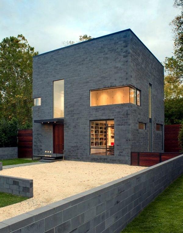 De casa minimalista fachada casas modernas pinterest for Fachadas de casas minimalistas