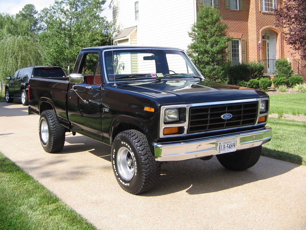 1984 ford f150 regular cab