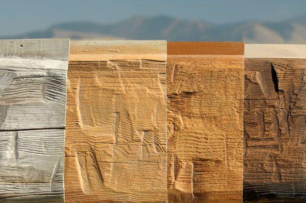 Everlog Concrete Log Siding Profiles Hand Hewn Board And Batten 12 Round Log Cabin Siding Log Siding Log Cabin Exterior