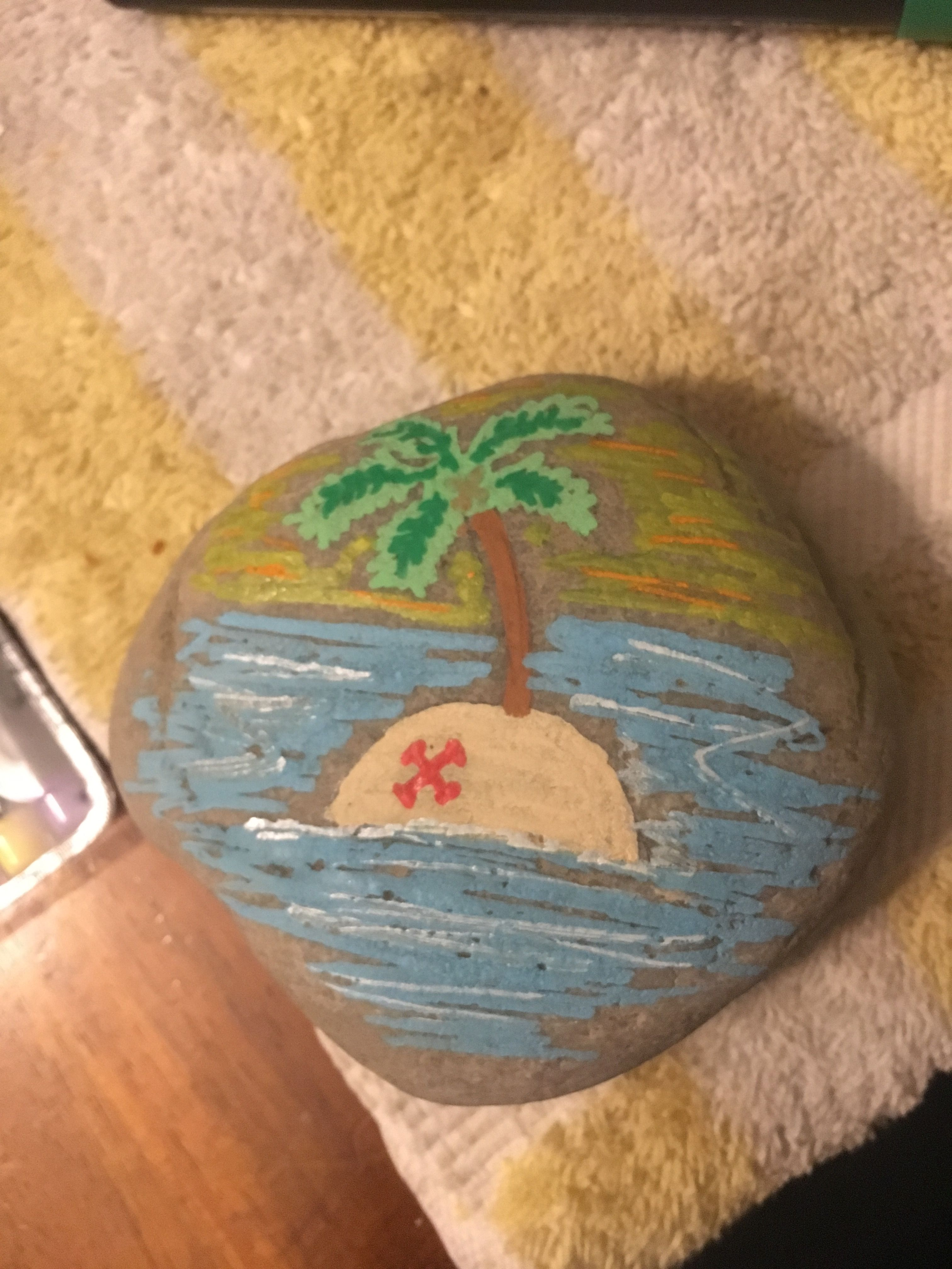 Treasure Island Paint Rocks