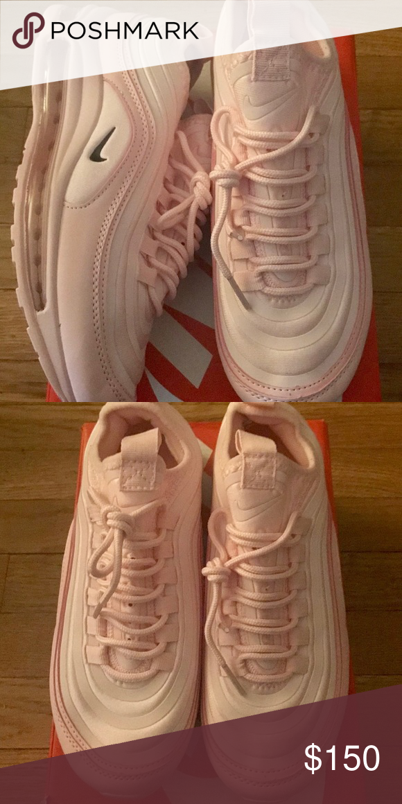 PINK NIKE AIR MAX 97 SIZE 8 IN WOMENS WILL TAKE OFFERS Nike Shoes Sneakers 5dbbaa6b4