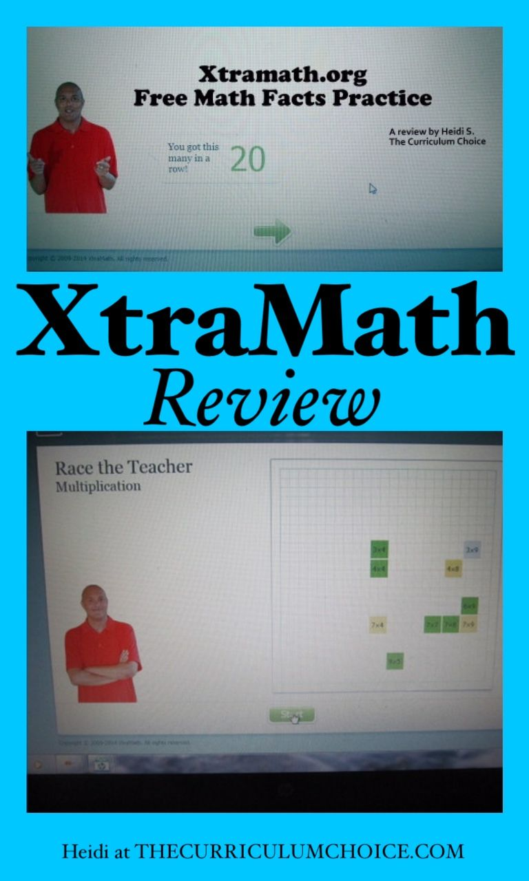 XtraMath: Free Math Facts Practice | Math fact practice, Free math ...