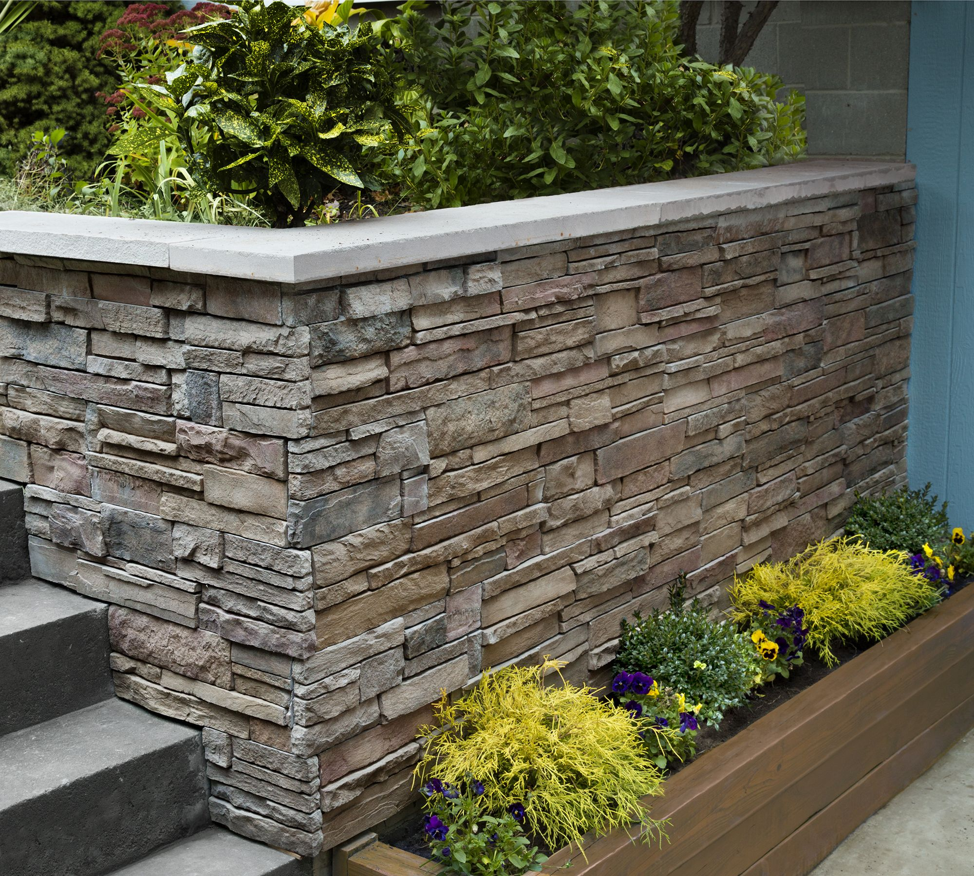 How To Clad A Wall In Stone In 2020 Stone Veneer Wall Exterior Stone Stone Facade