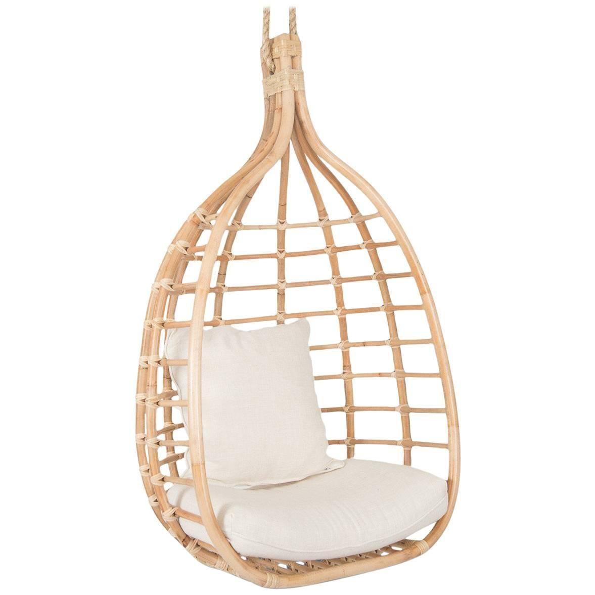 Santorini Natural Rattan Hanging Chair In 2019 My