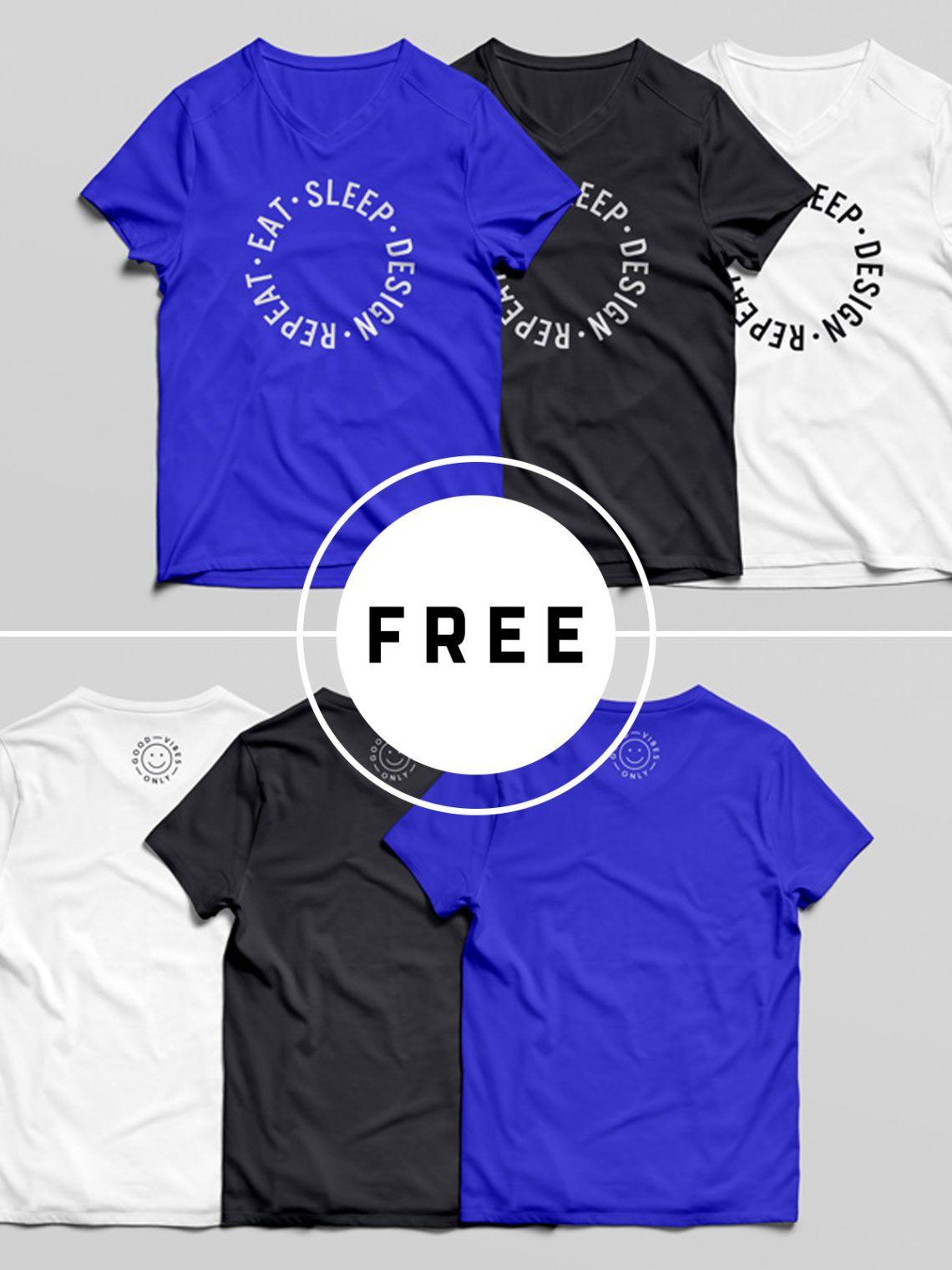 Download 25 Multipurpose Free T Shirt Mockups For Your Breathtaking Designs Shirt Mockup Tshirt Mockup Clothing Mockup