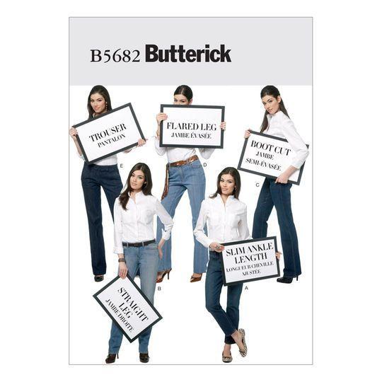 Butterick Pattern B5682 (6-8-10-12-14)