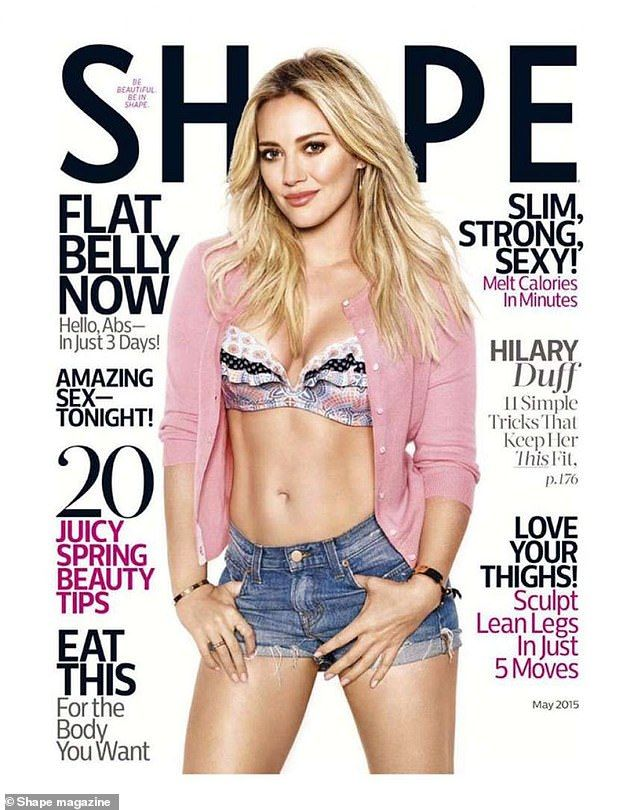 Hilary Duff states that her body is 'incredible'