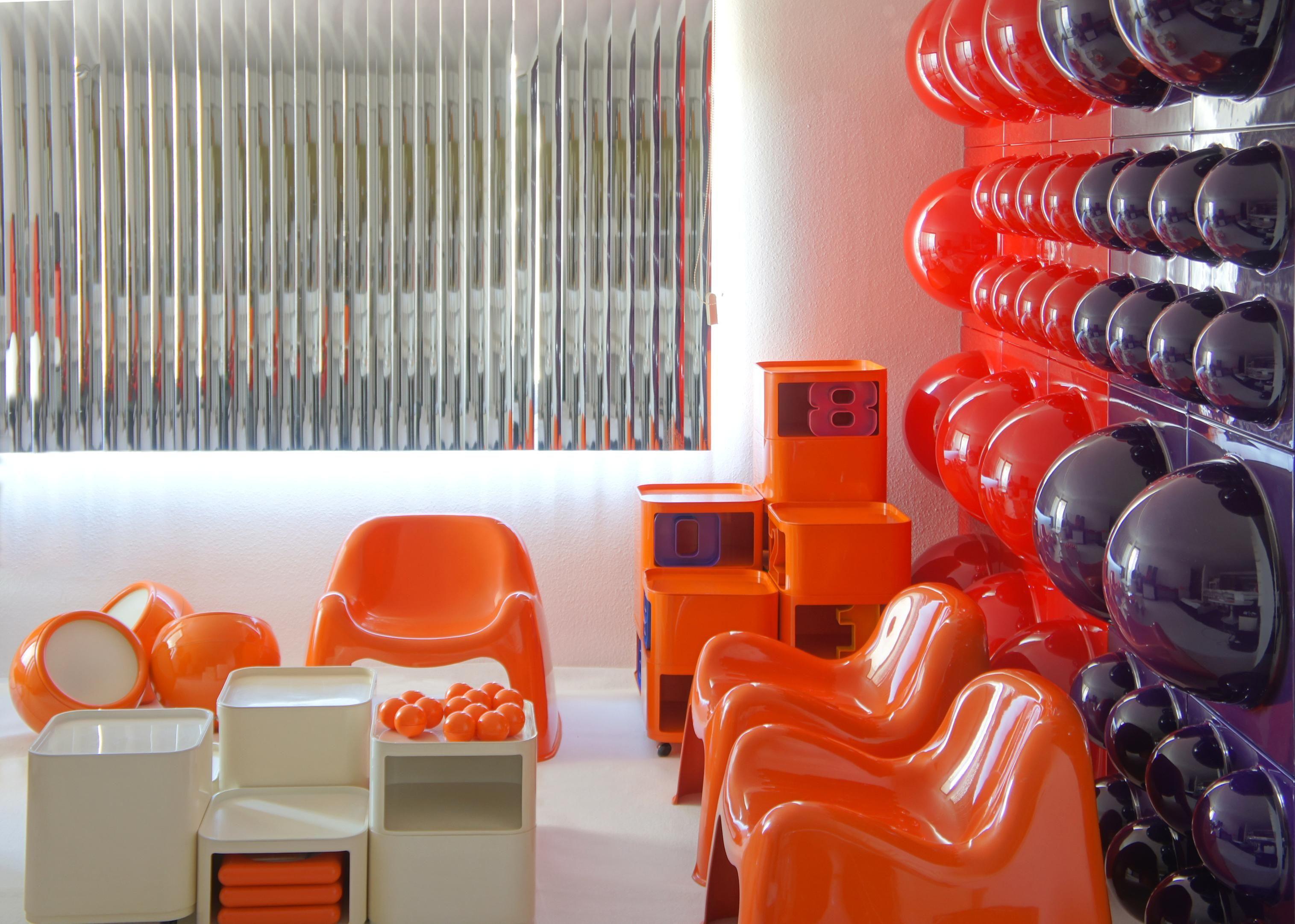 Verner panton interior design - Bubble Wall Elements Designed By Verner Panton For L Ber Basel 1970