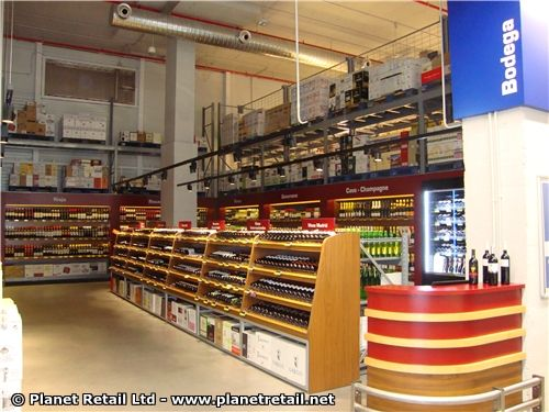 Metro group in spain paseo imperial madrid makro cash carries the wine section stocks - Paseo imperial madrid ...