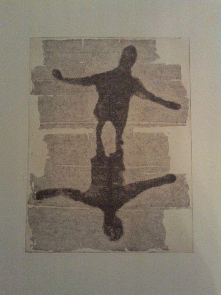 """Grabado de Desirée Fuertes, """"Conexión"""". Exposición en Repro-Arte."""