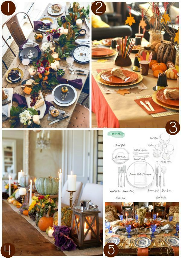 Thanksgiving Home Office Interior Design: Thanksgiving Tablescapes