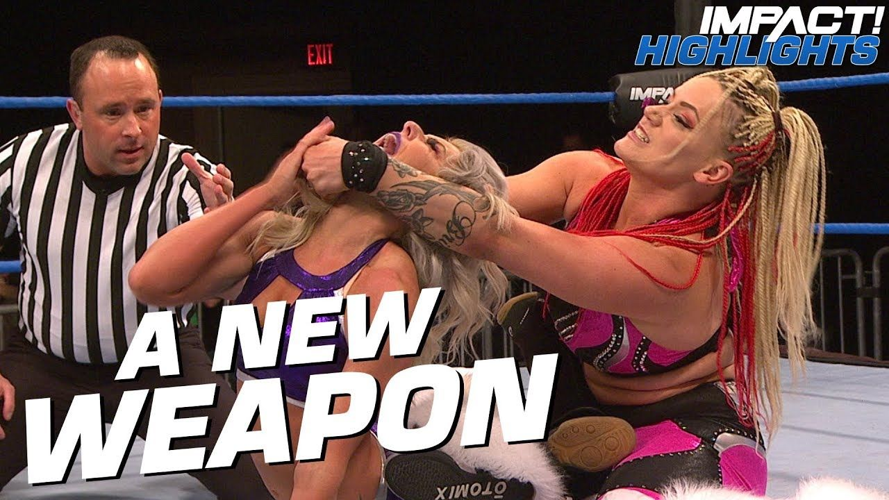 Taya Valkyrie Unveils SICK New Finishing Move! | IMPACT! Highlights