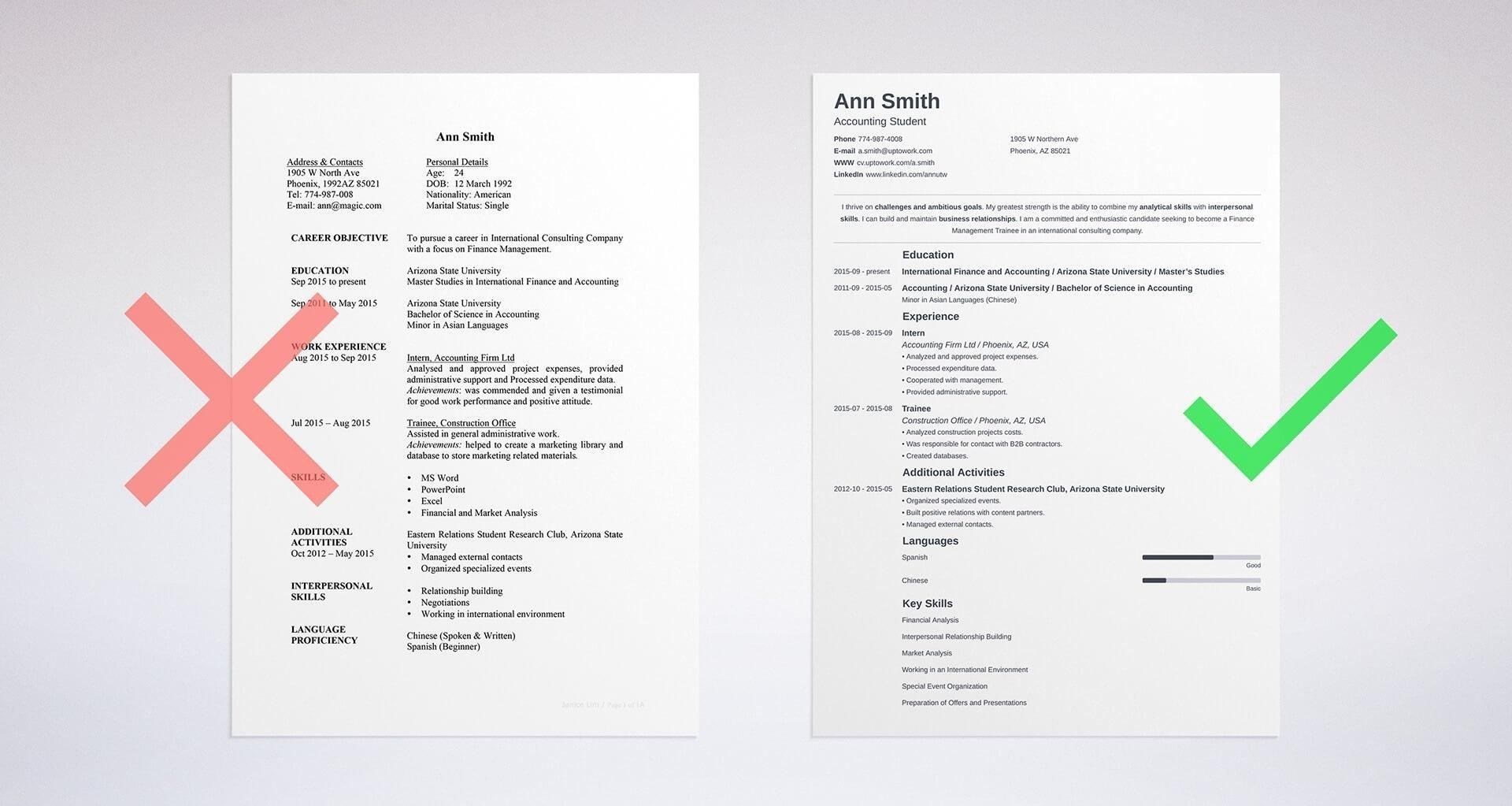 10+ Is it better to have a one page resume or two Resume Examples