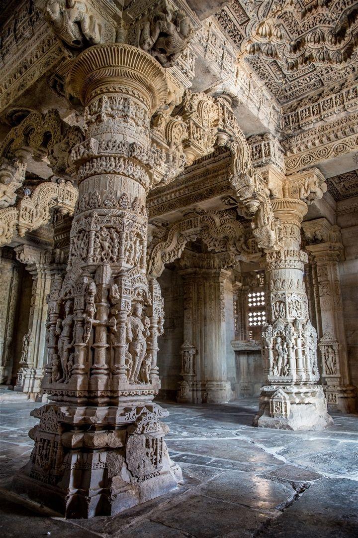 Nagda : Sas Bahu Temples