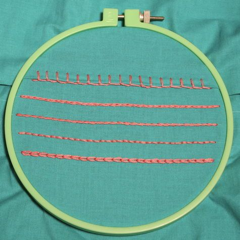 How To Five Handy Embroidery Stitches Hand Embroidery Stitches