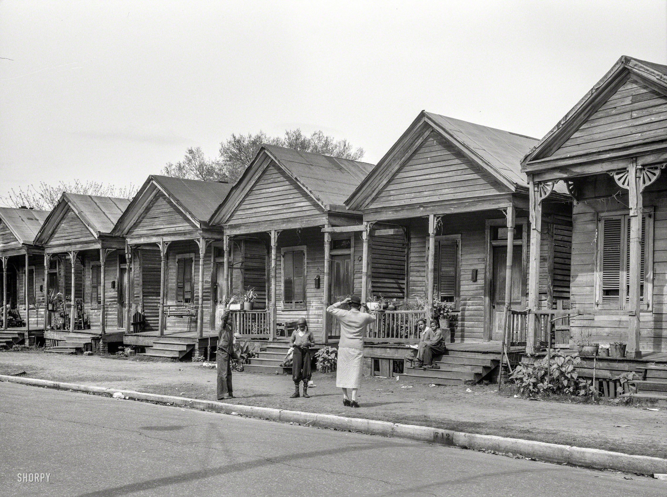 April 1937 Quot Negro Houses In Mobile Ala Quot Our Third