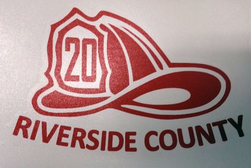 Firefighters, we now have a decal specifically designed for you! This custom  helmet sticker