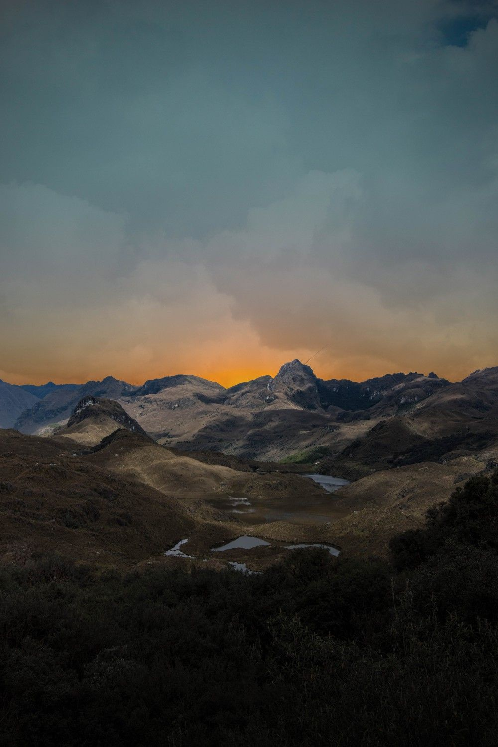 Pin By Iyan Sofyan On Mountains Mountain Landscape Photography Panoramic Photography Mountains