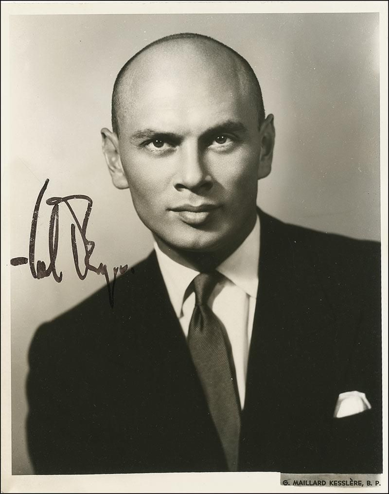 yul brynner a photographic journey book