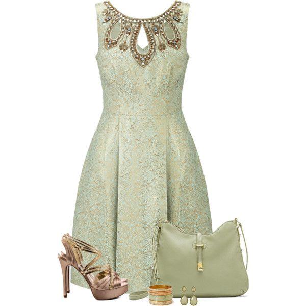 Monsoon Rupa Dress - Guess Kadyn Gold Sandals ✯ ωнιмѕу ѕαη∂у