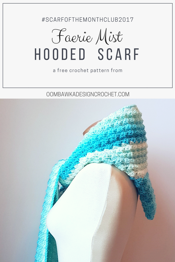 Faerie Mist Hooded Scarf | Guantes