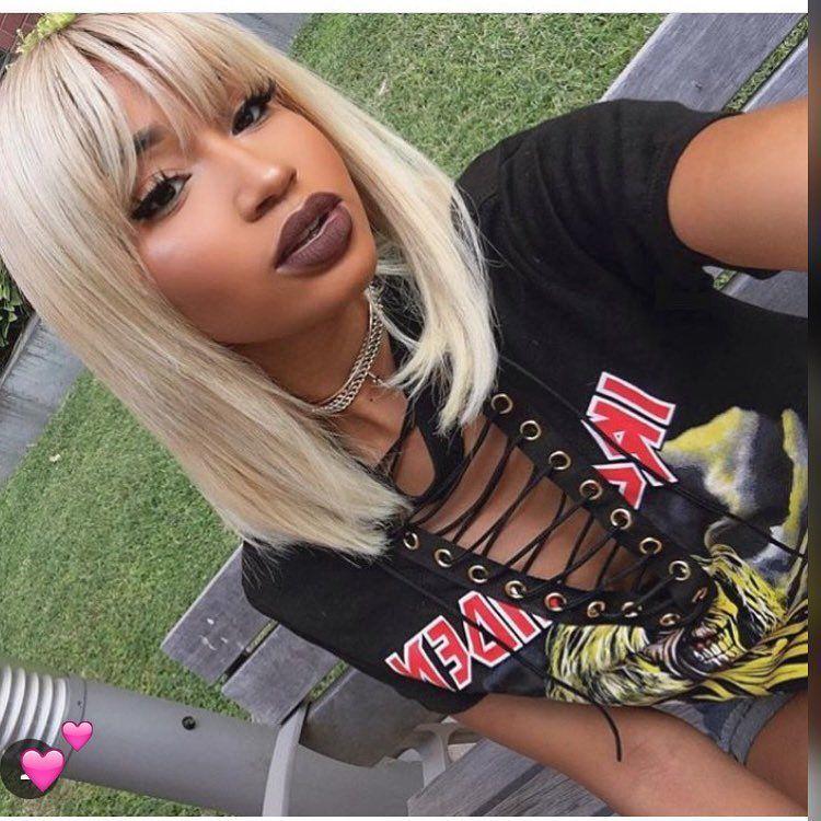 Salon De Coiffure Vente En Ligne Brasilian Peruvian Malaisian Asian Email Keliyahbeaute Yahoo Fr Inte Hair Styles Blonde Bob With Bangs Wig Hairstyles