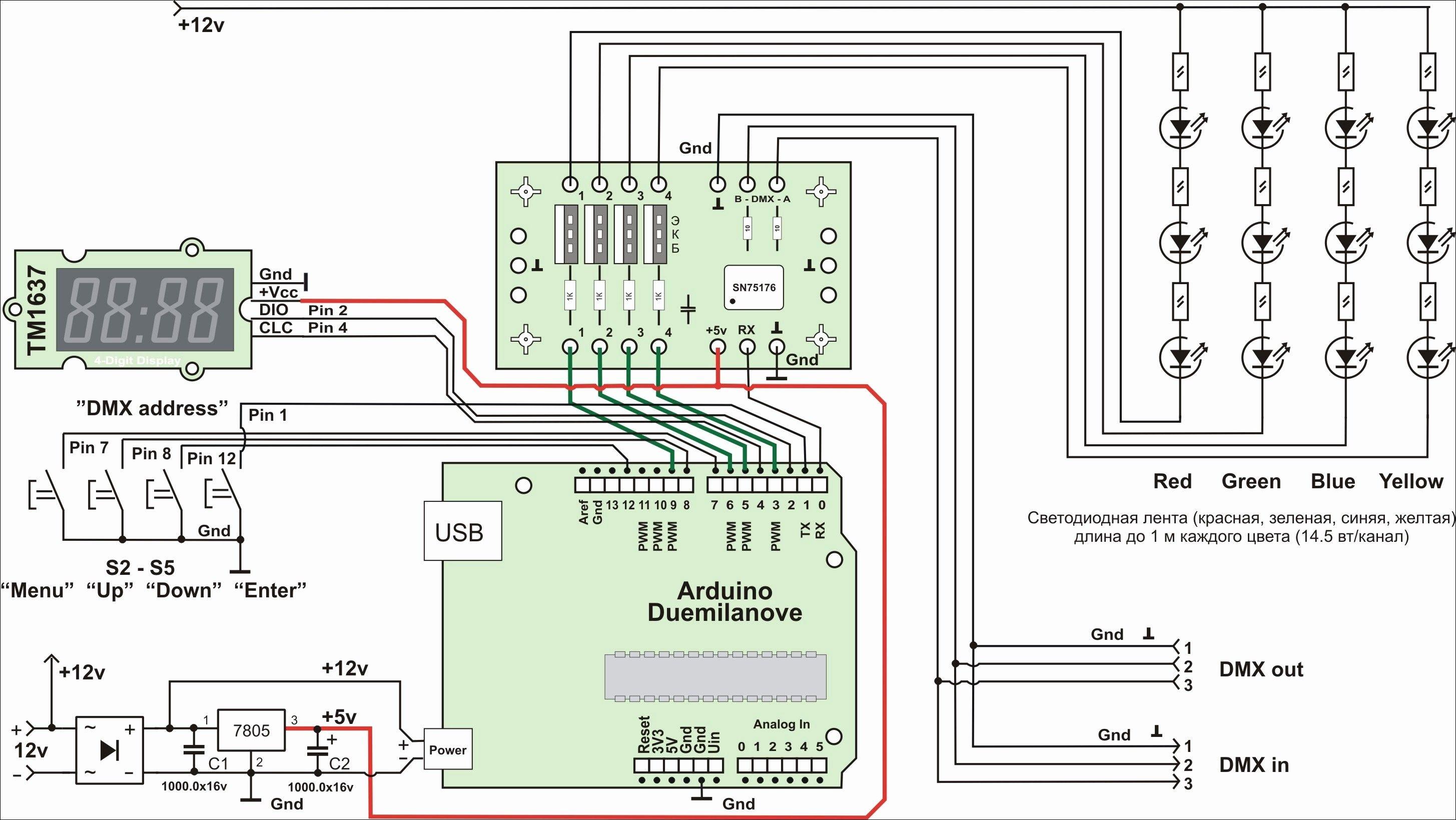 0 10 Volt Dimming Wiring Diagram In 2020 Dmx Dmx Lighting Led Lights