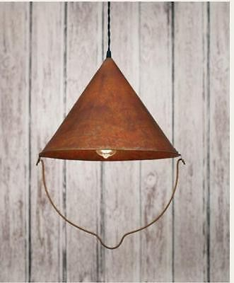 BOB'S PENDANT LAMP LIGHT. COUNTRY Light. PRIMITIVE LIGHTING