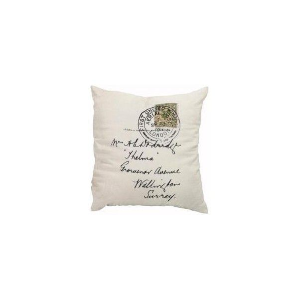 Thelma Stamp Throw Pillow HomeDecorators 40 Liked On Enchanting Home Decorators Pillows