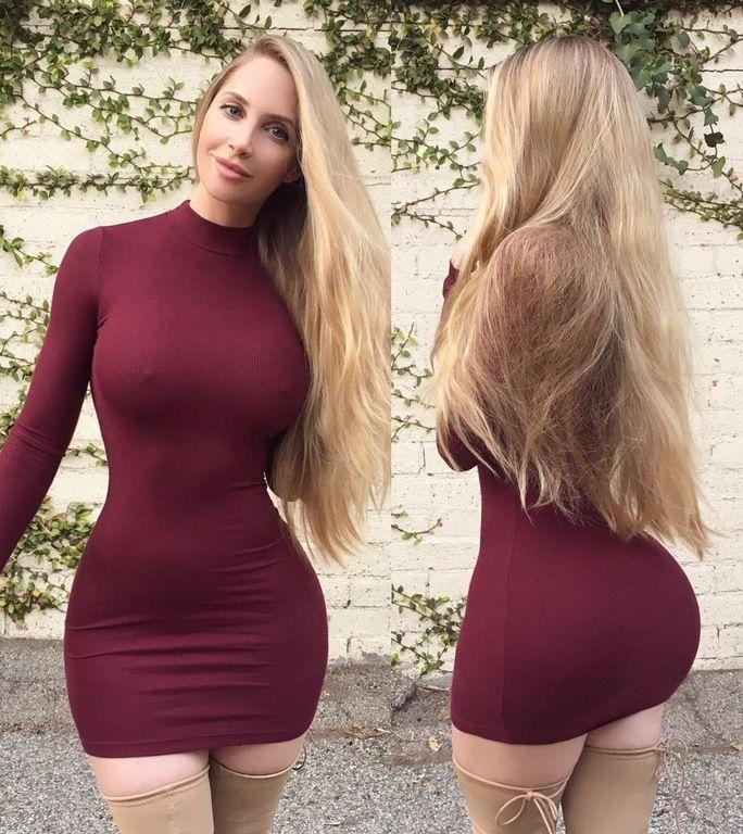 Hips Waist Cute Tight Dresses Tight Dresses Fashion
