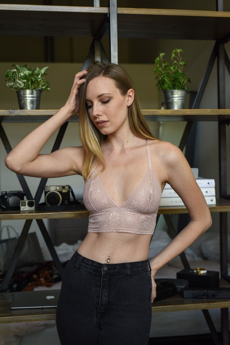 35d653c6745 leto wholesale lingerie intimate chantilly lace longline bra bralette top  sexy see through