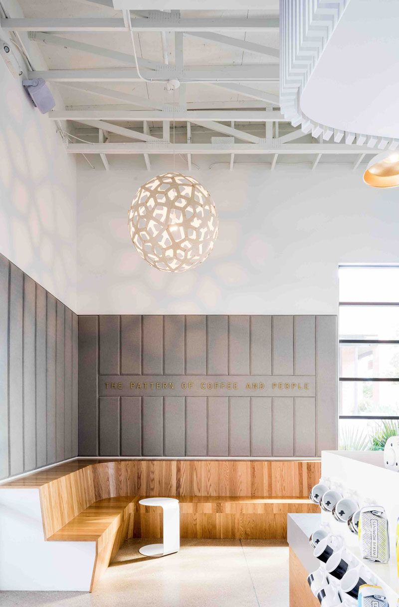 Texas Design Firm OFFICIAL Have Created A Unique Coffee Shop And Cocktail  Bar Design In Dallas, Named The Houndstooth Coffee And Jettison Cocktail  Bar.