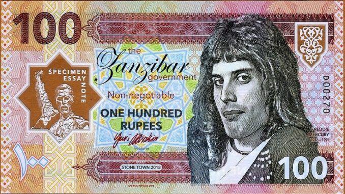 Billete Freddie Mercury 2018 Freddie Mercury Mercury Videos De Rock