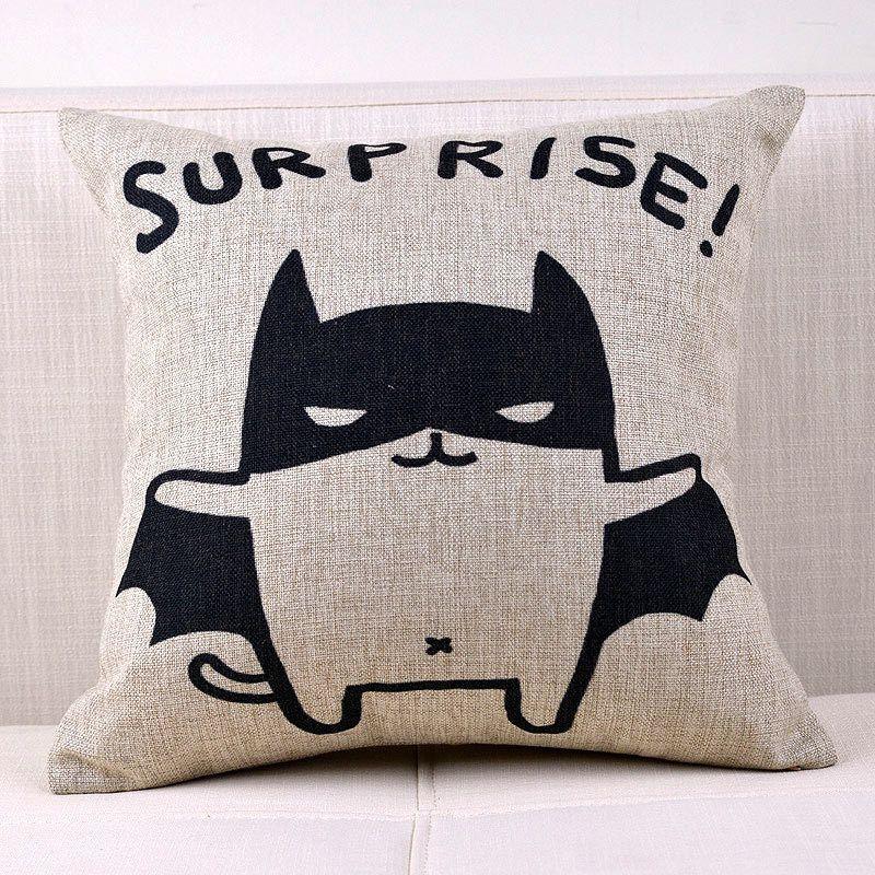 Batman Pillow Cover Cat Pillow Case Cartoon Animal Cat Batman Throw Pillow Case Pillowcase Wholesale In Pillow Cas Cat Pillowcase Batman Pillow Pillow Covers